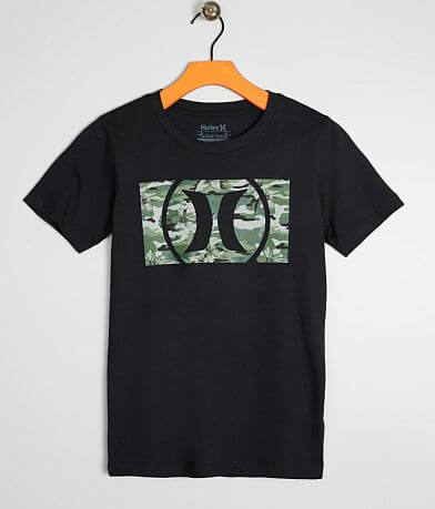 fdc7a8d4accf1 Boys - Hurley Camo Fill T-Shirt