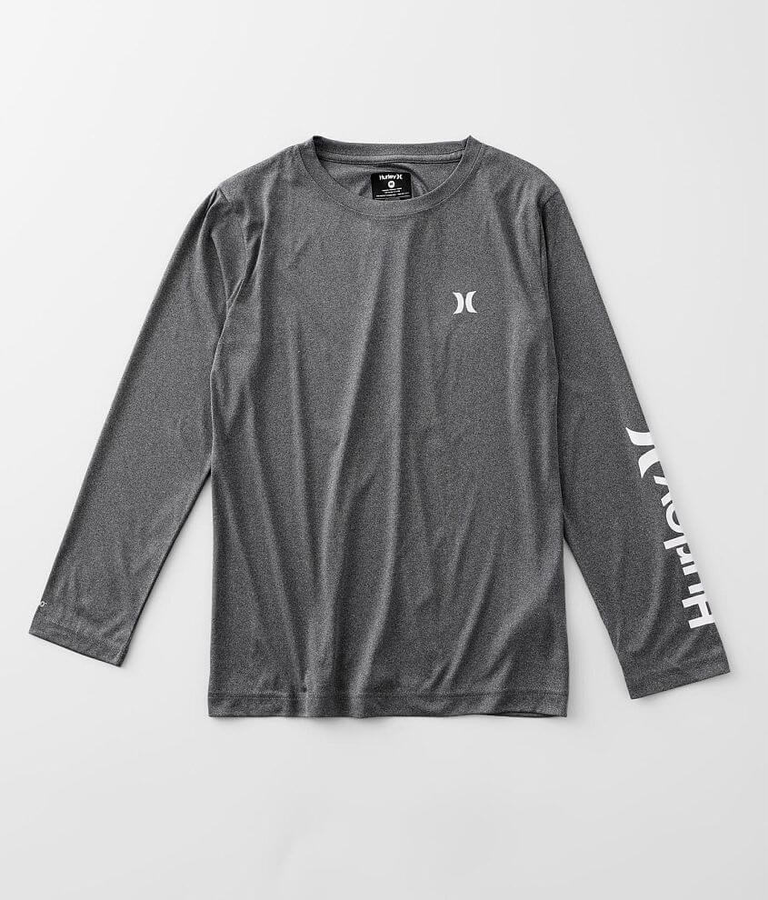 Boys - Hurley Icon Dri-FIT UPF T-Shirt front view