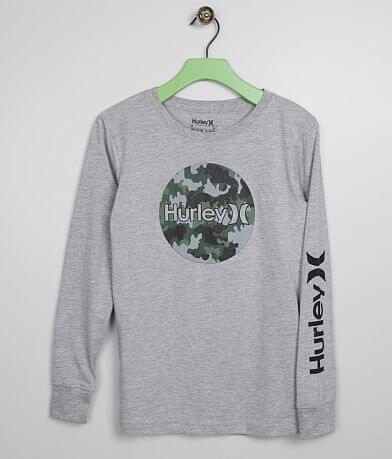 Boys - Hurley Circular Camo T-Shirt