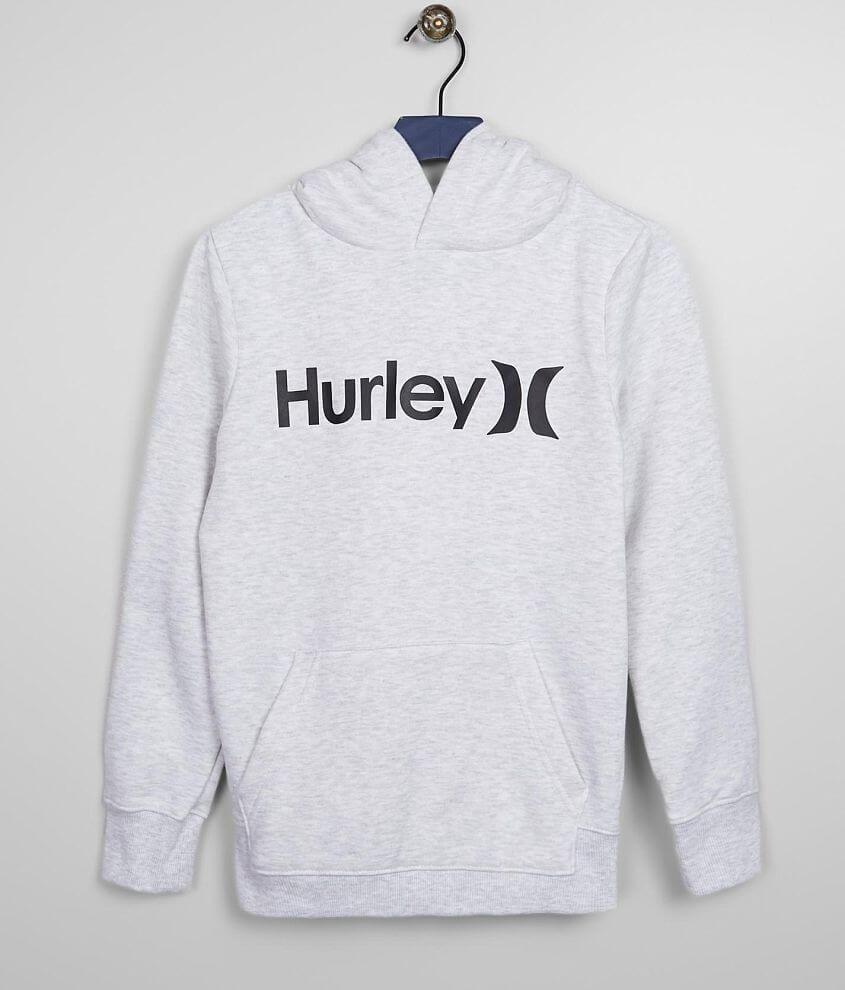 Boys - Hurley Core Fleece Hooded Sweatshirt front view