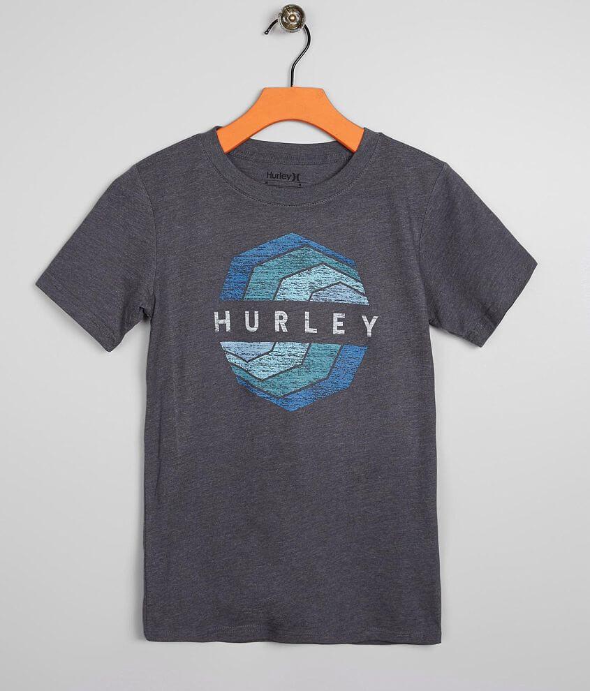 2f9c7fa13 Boys - Hurley Serrated T-Shirt - Boy's T-Shirts in Charcoal Heather ...