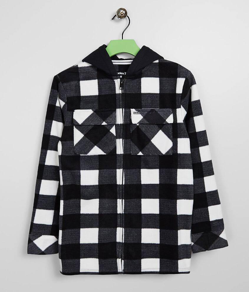 Boys - Hurley Arctic Fleece Shirt Jacket front view
