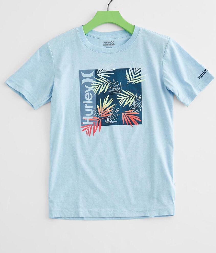 Boys - Hurley Box Print Fill T-Shirt front view