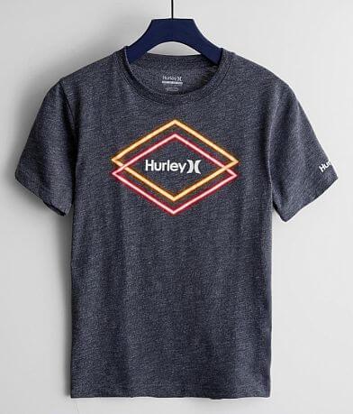 Boys - Hurley Neon Diamond T-Shirt