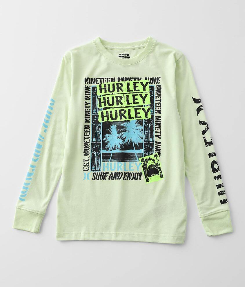 Boys - Hurley Posted Up T-Shirt front view