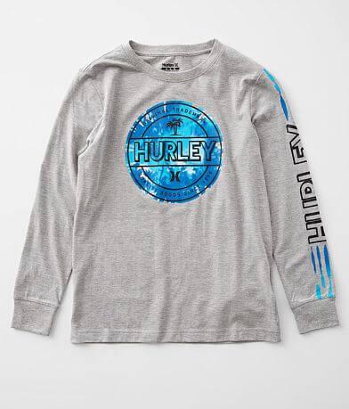 Boys - Hurley Tie Dye Logo T-Shirt