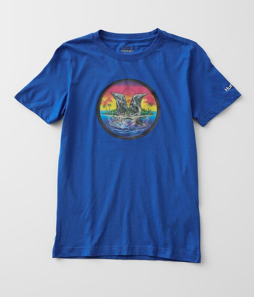 Boys - Hurley Shark Island T-Shirt front view