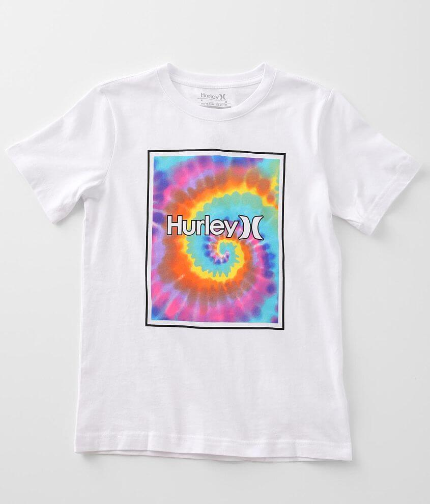 Boys - Hurley Icon Swirl T-Shirt front view