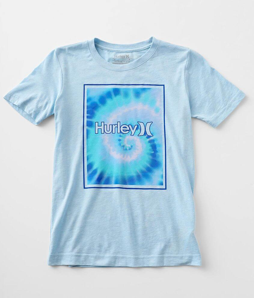 Boys - Hurley Tie-Dye T-Shirt front view
