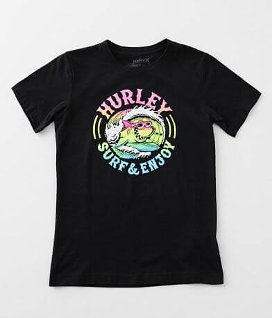 Boys - Hurley Shark Barrel T-Shirt