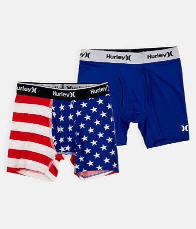 Boys - Hurley Patriot Dri-FIT Boxer Briefs