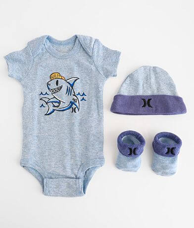 Baby - Hurley 0-6 Month 3 Piece Set