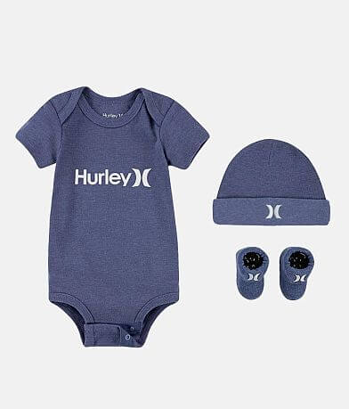 Baby - Hurley One & Only 6-12 Month 3 Piece Set