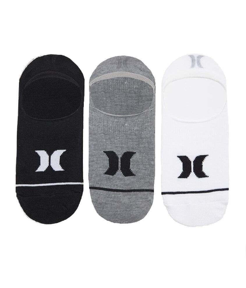 Boys - Hurley 3 Pack Invisible Socks
