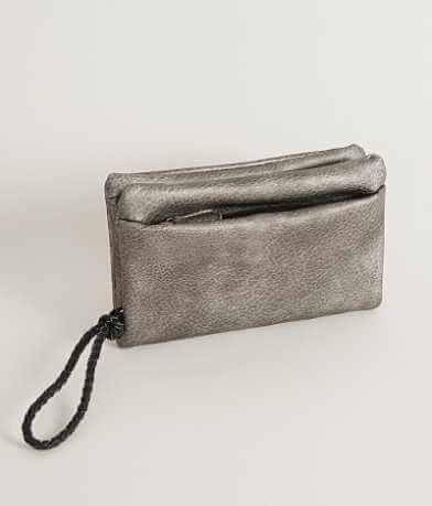 Distressed Wristlet Wallet