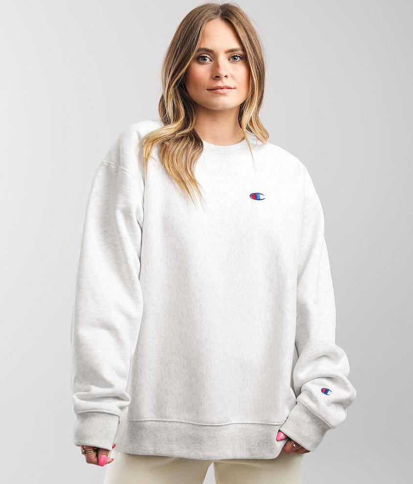 Champion® Reverse Oversized Pullover front view