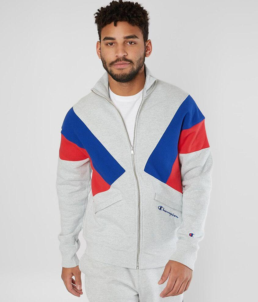 Champion® Color Block Jacket front view