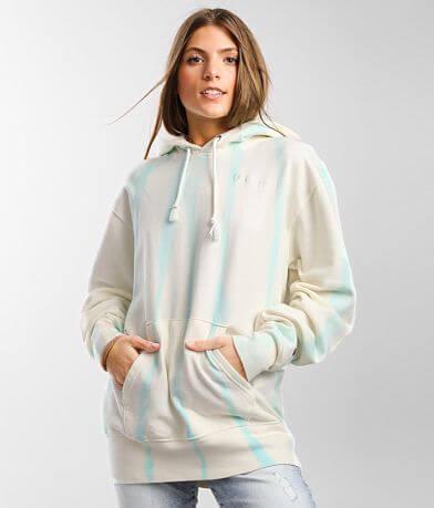 Champion® Feather Tie Dye Hooded Sweatshirt