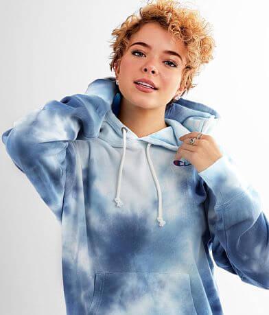 Champion® Big Sky Tie Dye Hooded Sweatshirt