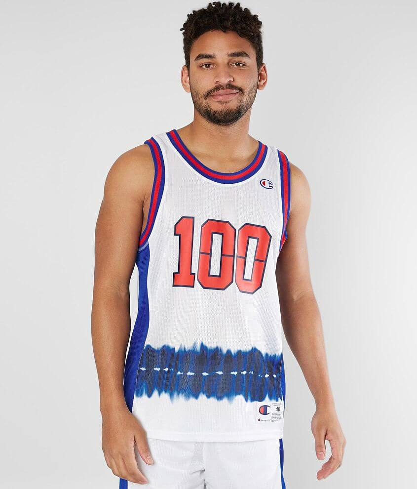 Champion® City Jersey Tank Top front view
