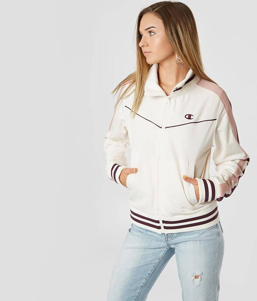 Champion® Tricot Track Jacket front view