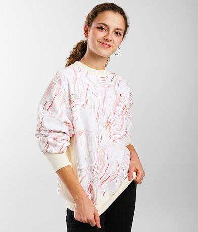 Champion® Boyfriend Swirl Sweatshirt