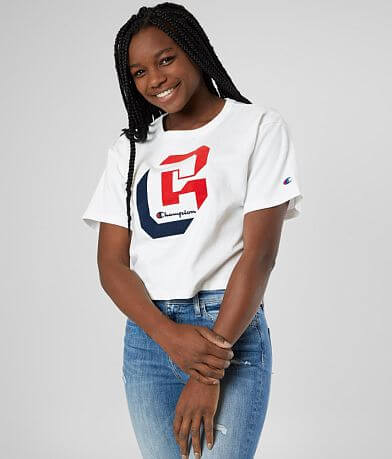 Champion® Cropped T-Shirt