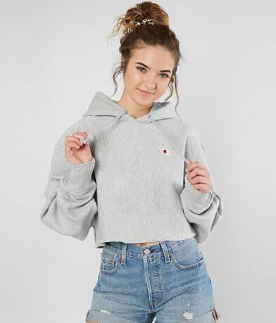 Champion® Reverse Weave Cropped Sweatshirt