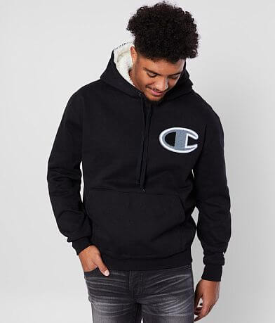 Champion® Logo Hooded Sweatshirt