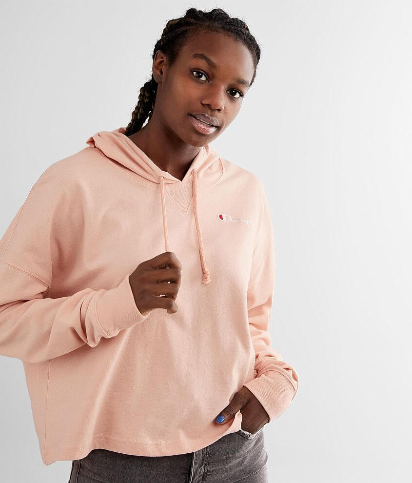 Champion® Summersweats Oversized Hoodie front view