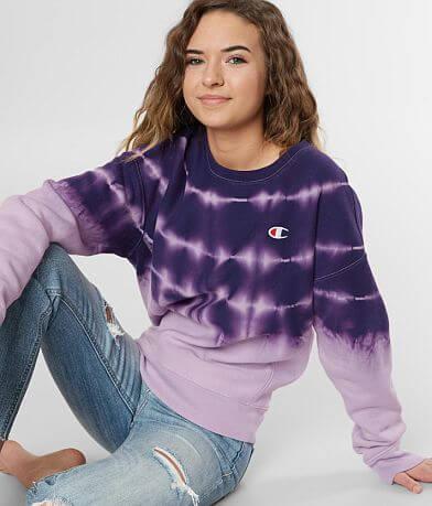 Champion® Tie Dye Sweatshirt