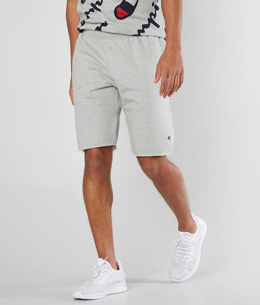 grey men's shorts