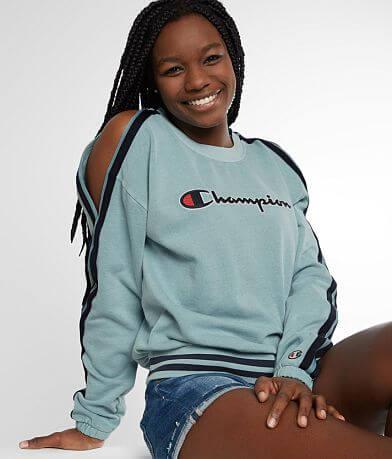 Champion® Cold Shoulder Sweatshirt