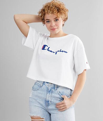 Champion® Heritage Cropped T-Shirt