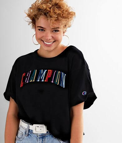 Champion® Heritage Cropped T-Shirt