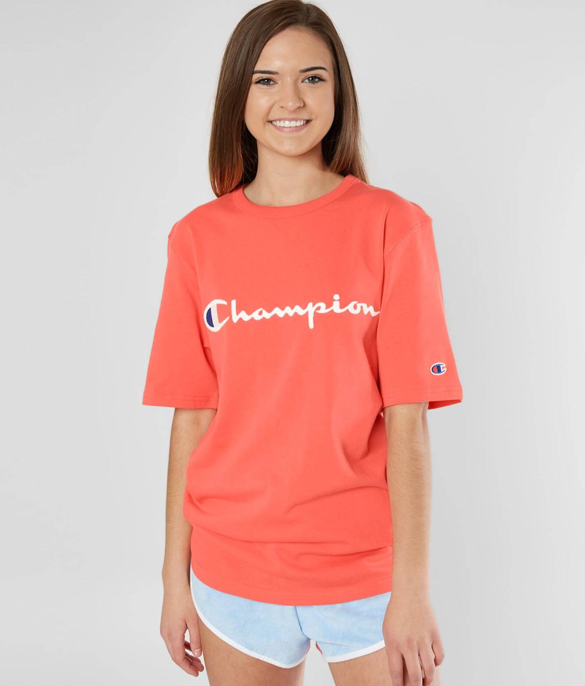 ad97e547d Champion® Heritage T-Shirt - Women's T-Shirts in Groovy Papaya | Buckle