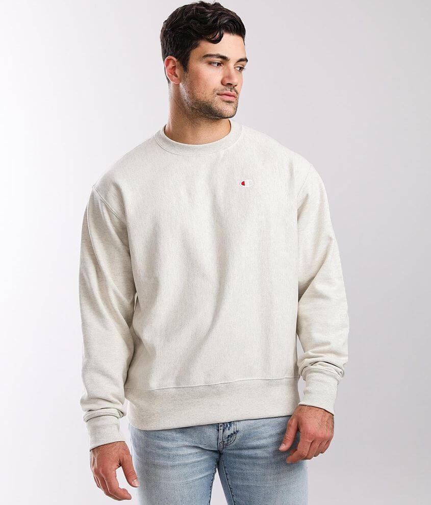 Champion® Reverse Weave Crew Neck Sweatshirt front view