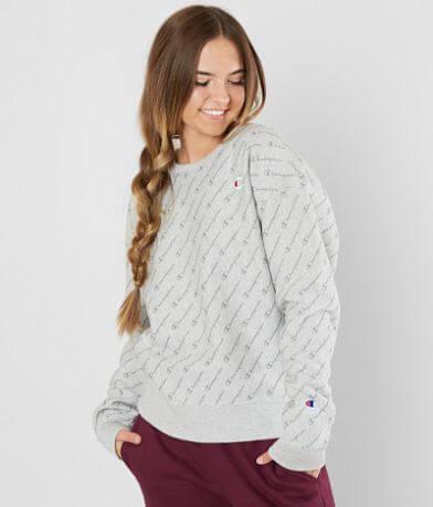 Champion® Script Sweatshirt