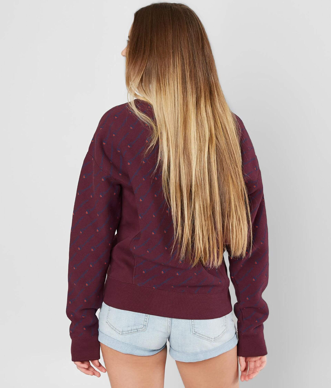 2099eebb609 Champion® Logo Sweatshirt - Women s Sweatshirts in Dark Berry Purple ...
