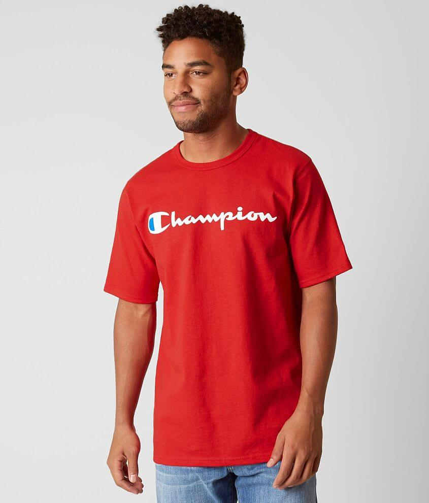 7746c9f52920 Champion® Heritage T-Shirt - Men's T-Shirts in Team Red Scarlet | Buckle