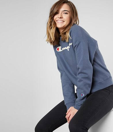 Champion® Garment Dyed Sweatshirt