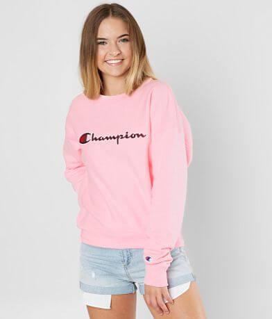 Champion® Pieced Logo Sweatshirt