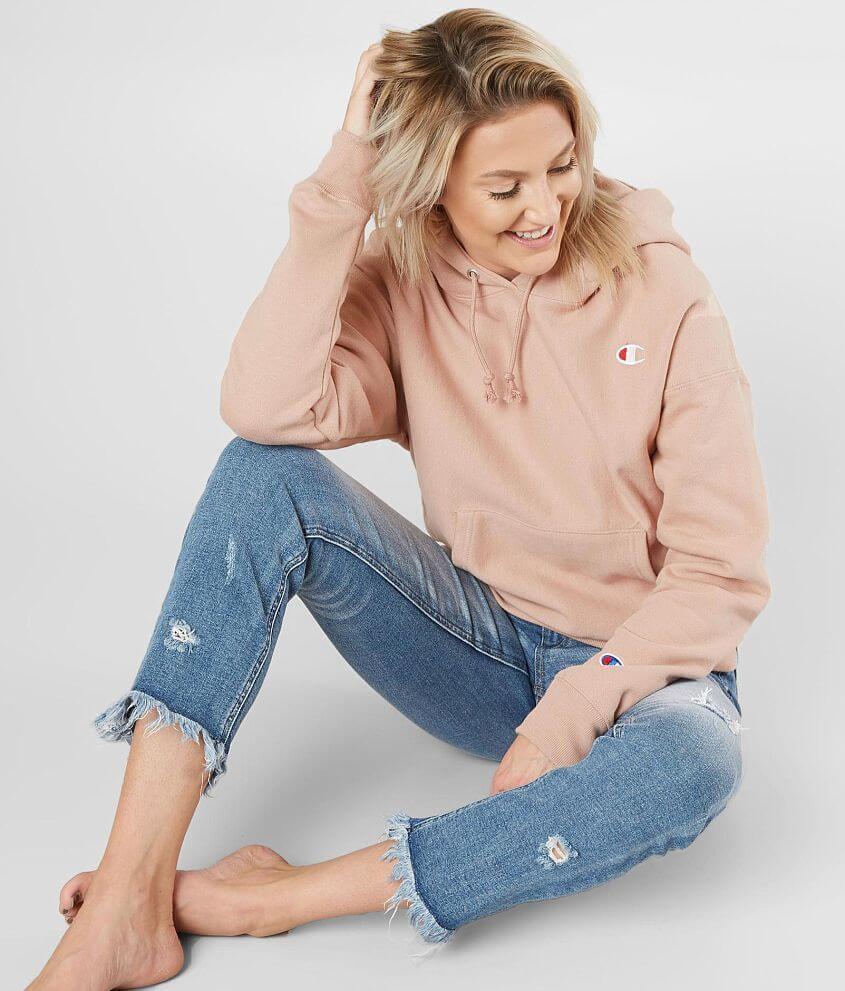 Champion® Reverse Weave Hooded Sweatshirt - Women s Sweatshirts in ... 94726efa15