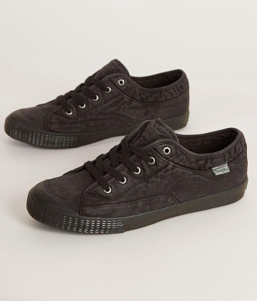 3420f2efd5a4 Simple Wingman-D Shoe - Men s Shoes in Black Dye Wash Canvas