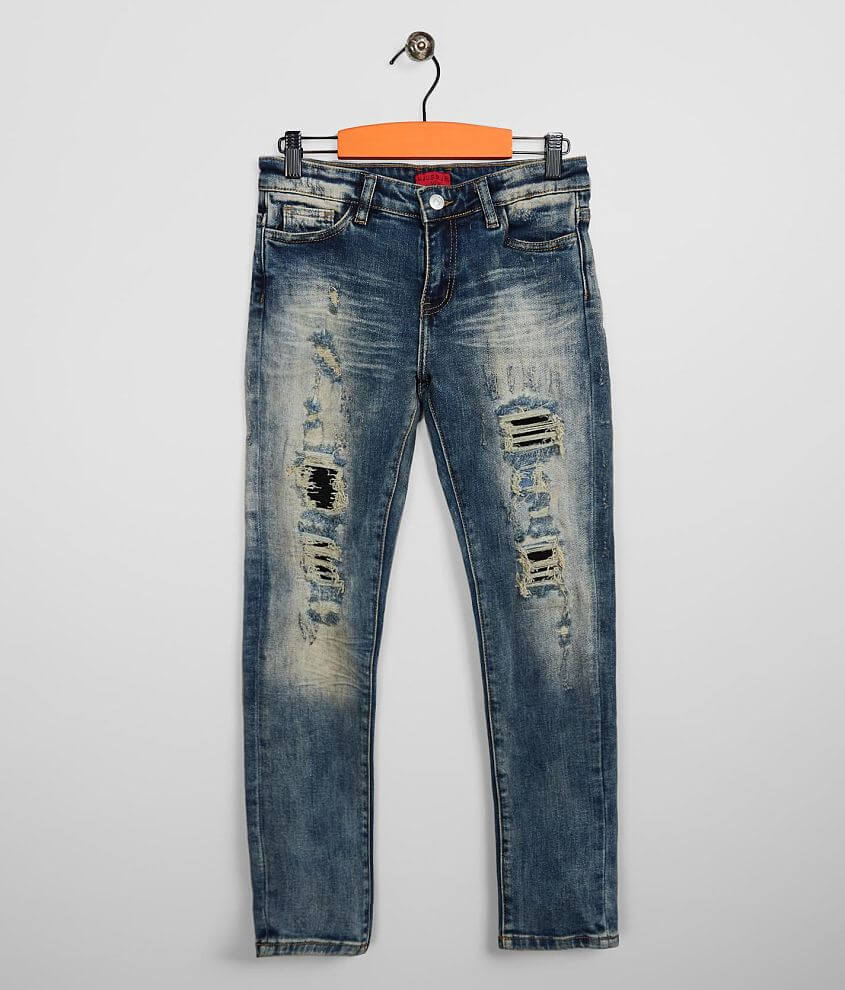 Boys - Haus of JR Taper Stretch Jean front view