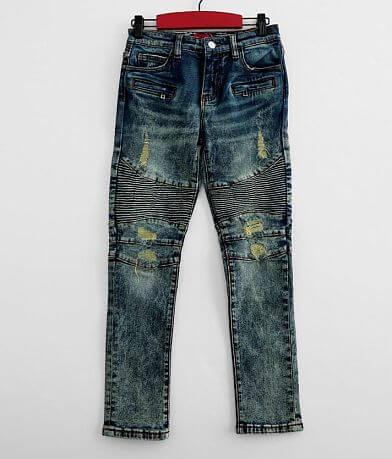 Boys - Haus of JR Ethan Washed Taper Stretch Jean
