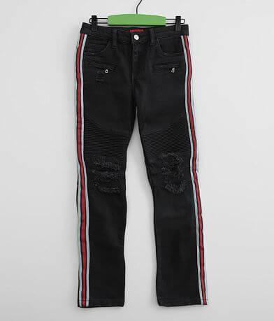 Boys - Haus of JR Cobra Moto Taper Stretch Jean