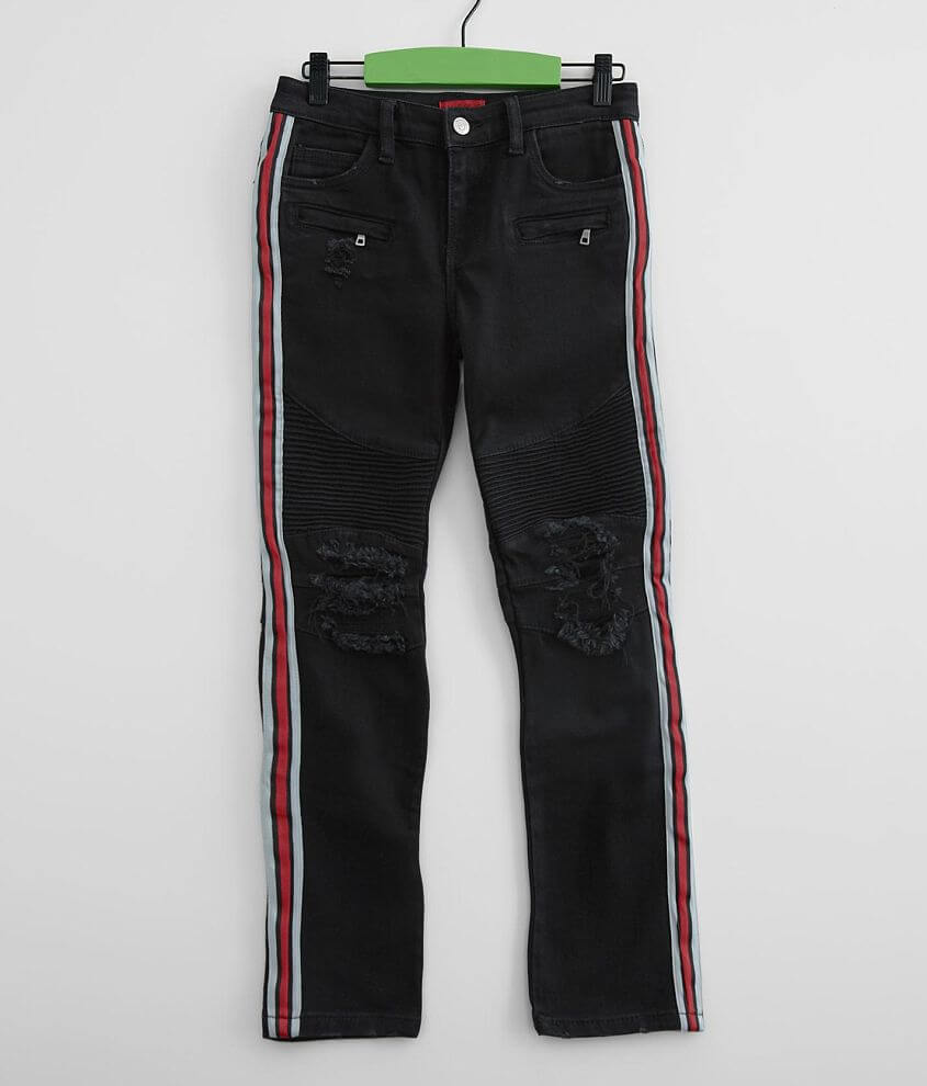 Boys - Haus of JR Cobra Moto Taper Stretch Jean