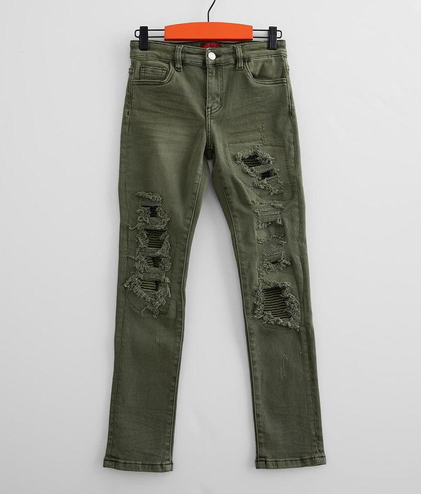 Boys - Haus of JR Ricky Taper Stretch Jean front view