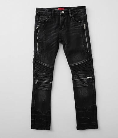 Boys - Haus of JR Liam Moto Taper Stretch Jean